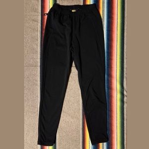 REI Polartec Black Fleece Lined Sweatpants